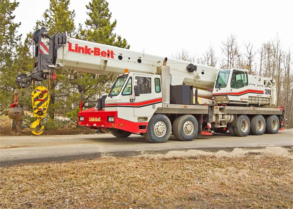 Link-Belt HTC-3140, All Terrain Cranes and Hydraulic Truck Cranes, Construction Equipment