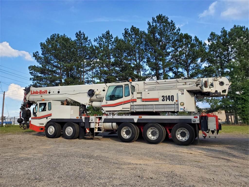Link-Belt HTC-3140LB, Hydraulic Truck Cranes and Boom Trucks, Trucks and Trailers