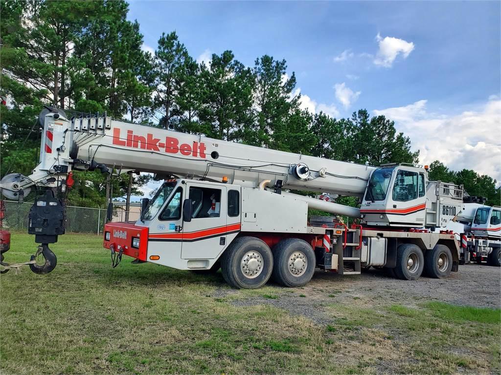 Link-Belt HTC-86110, Hydraulic Truck Cranes and Boom Trucks, Trucks and Trailers