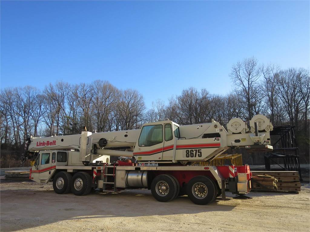 Link-Belt HTC-8675 II, Boom Trucks, Trucks and Trailers