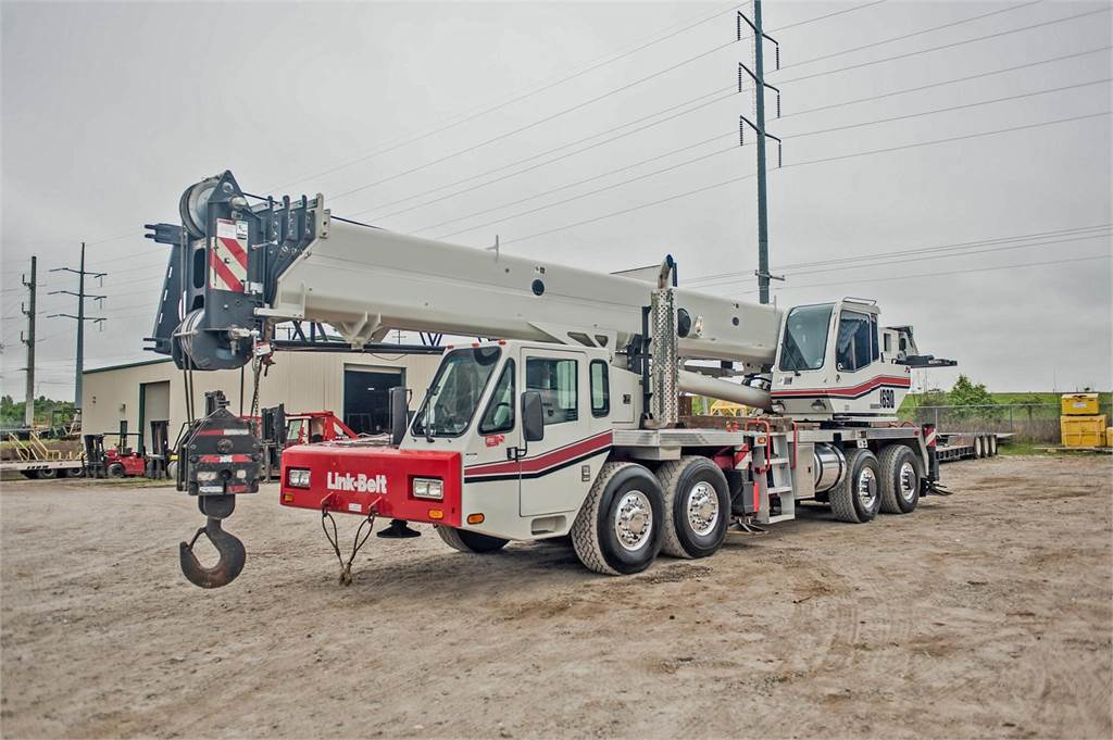 Link-Belt HTT8690, All Terrain Cranes and Hydraulic Truck Cranes, Construction Equipment