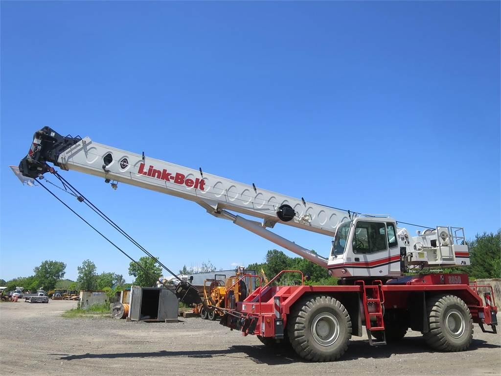 Link-Belt RTC-8050 II, Rough Terrain Cranes, Construction Equipment