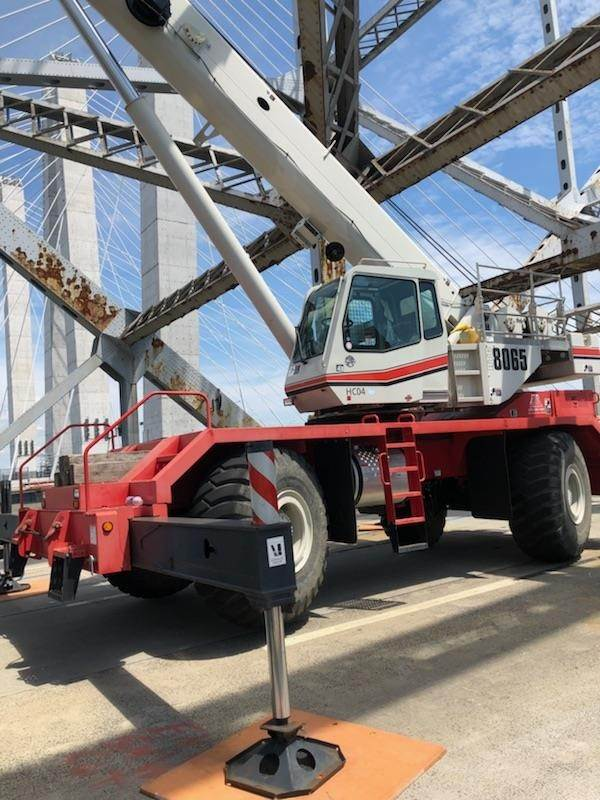 Link-Belt RTC-8065S II, Rough Terrain Cranes, Construction Equipment