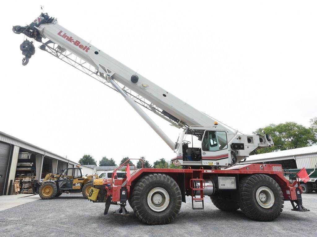 Link-Belt RTC-8090, Rough Terrain Cranes, Construction Equipment