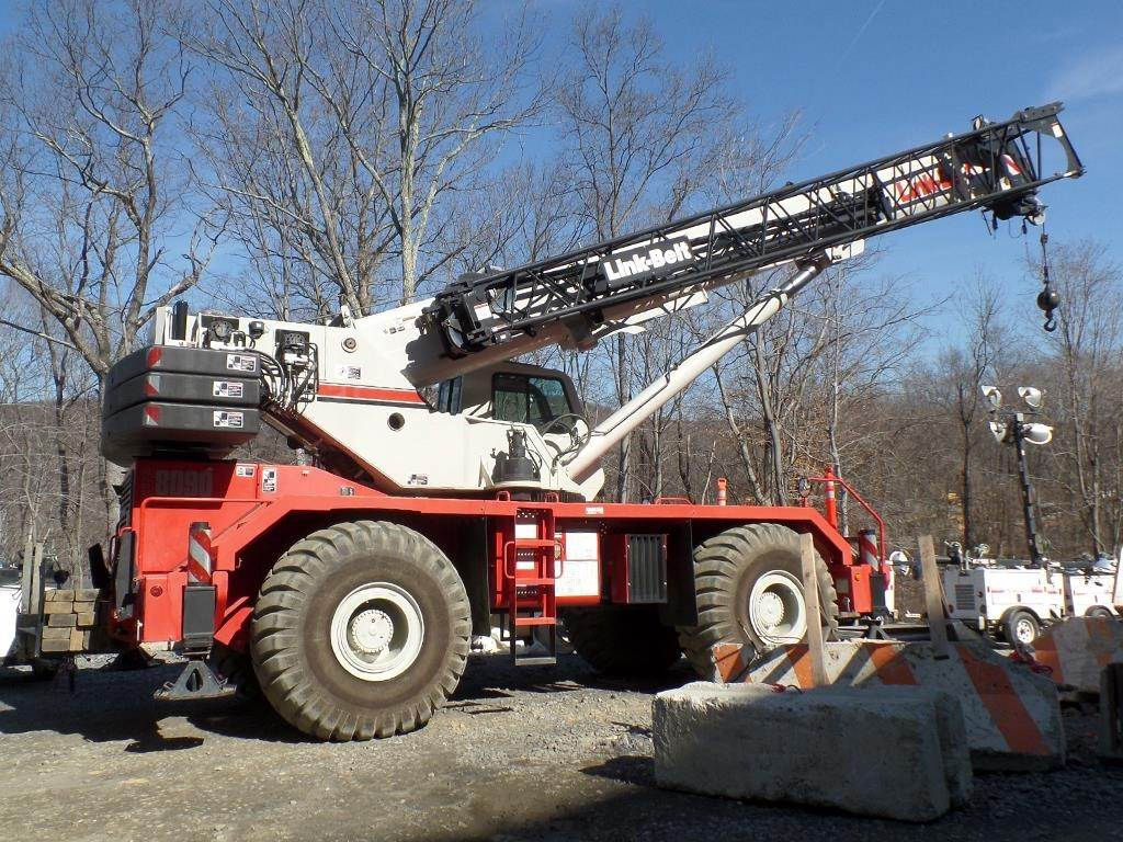 Link-Belt RTC-8090 II, Rough Terrain Cranes, Construction Equipment
