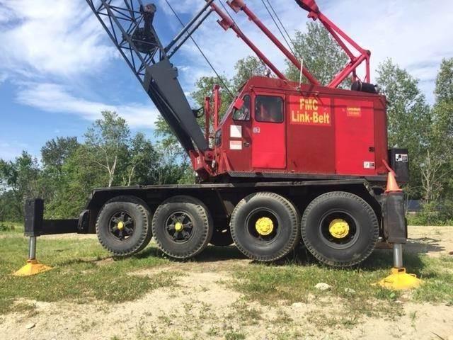 Link-Belt UC-108B, Boom / Crane / Bucket Trucks, Trucks and Trailers
