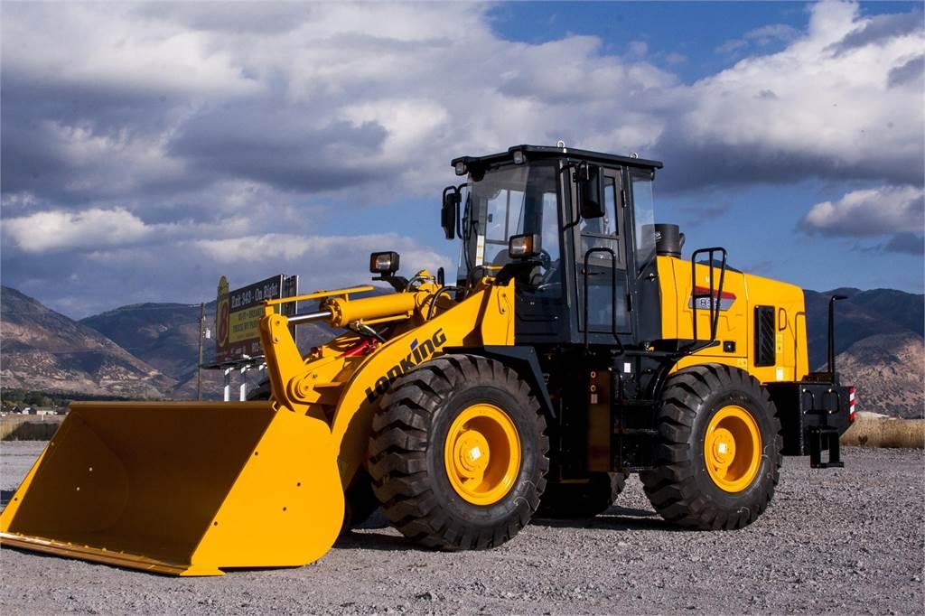 Lonking CDM835E, Wheel Loaders, Construction Equipment