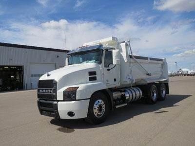 Mack ANTHEM 64R, Dump Trucks, Trucks and Trailers