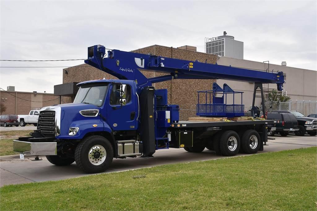 Manitex 30100C, Loader Cranes, Trucks and Trailers