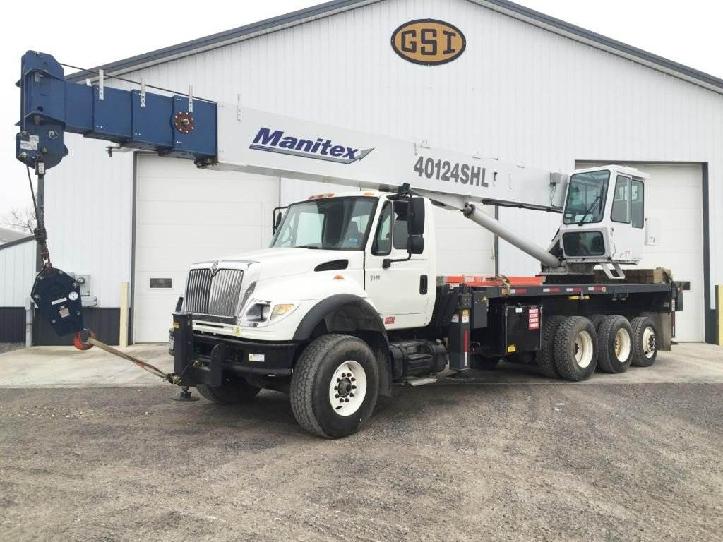 Manitex 40124SHL, Loader Cranes, Trucks and Trailers