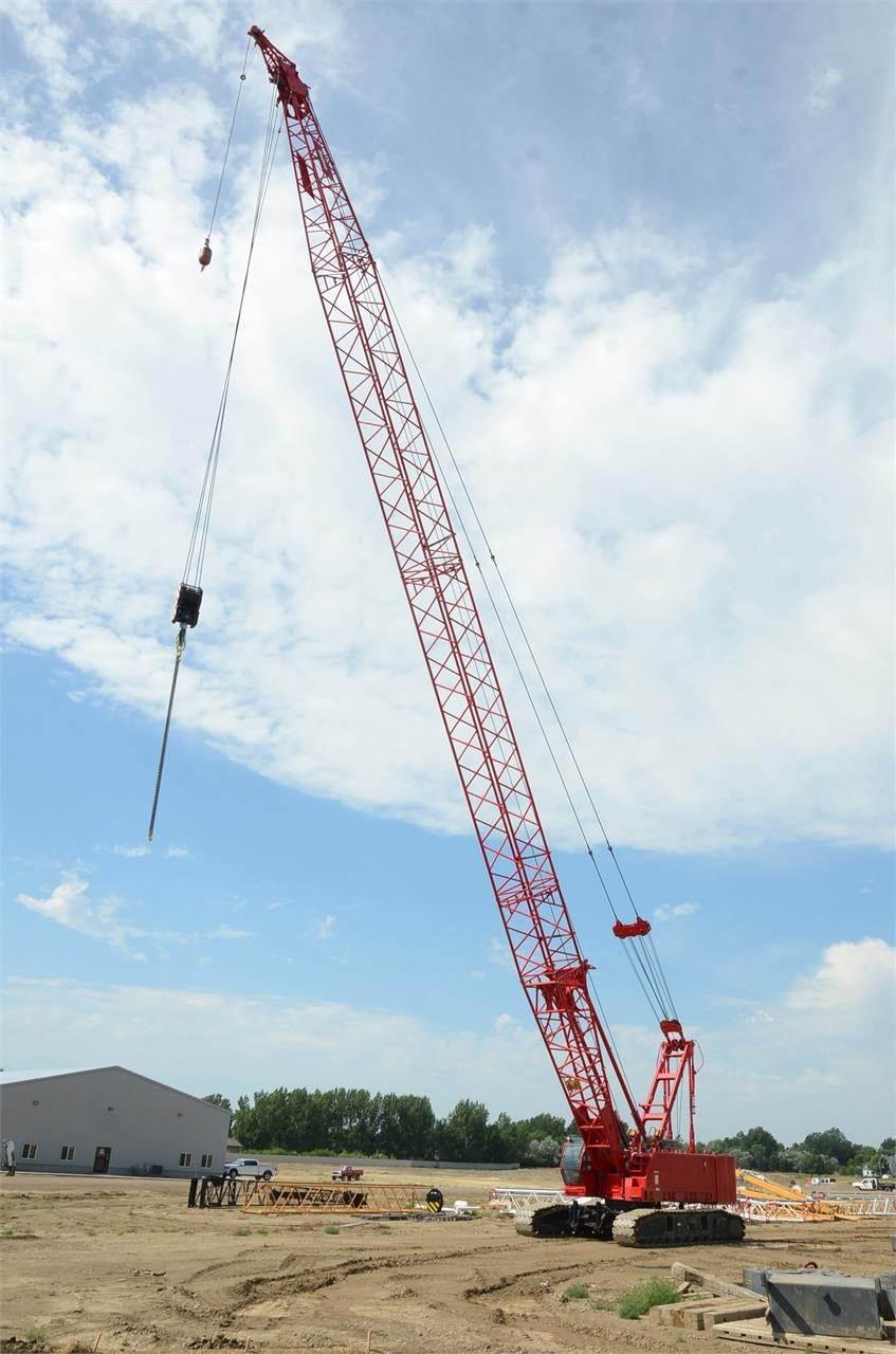 Manitowoc 12000, Crawler Cranes, Construction Equipment