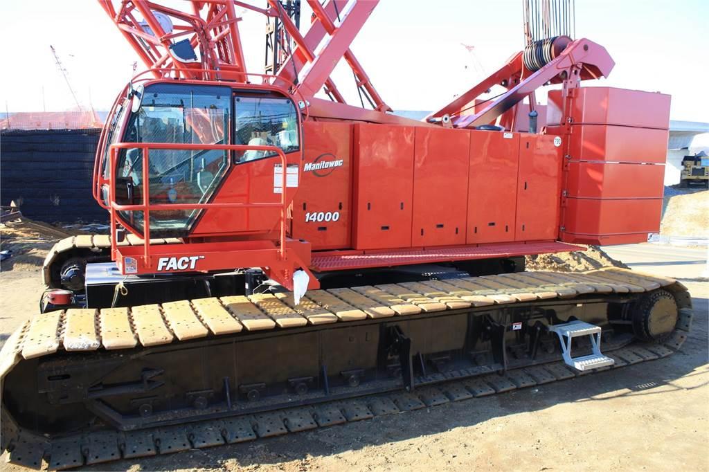 Manitowoc 14000, Crawler Cranes, Construction Equipment