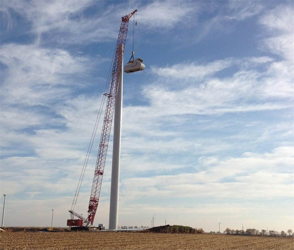 Manitowoc 16000, Crawler Cranes, Construction Equipment