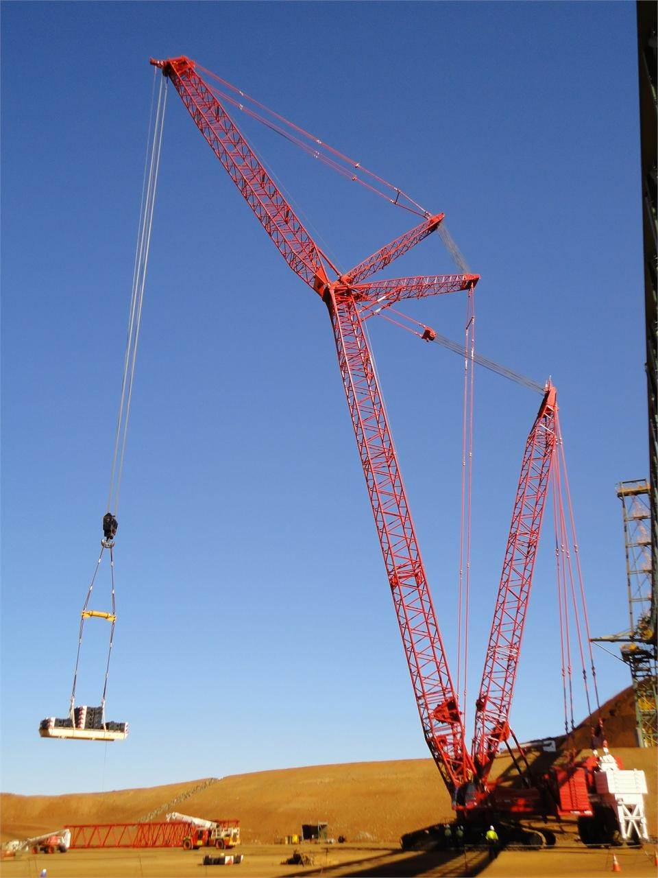 Manitowoc 18000, Crawler Cranes, Construction Equipment
