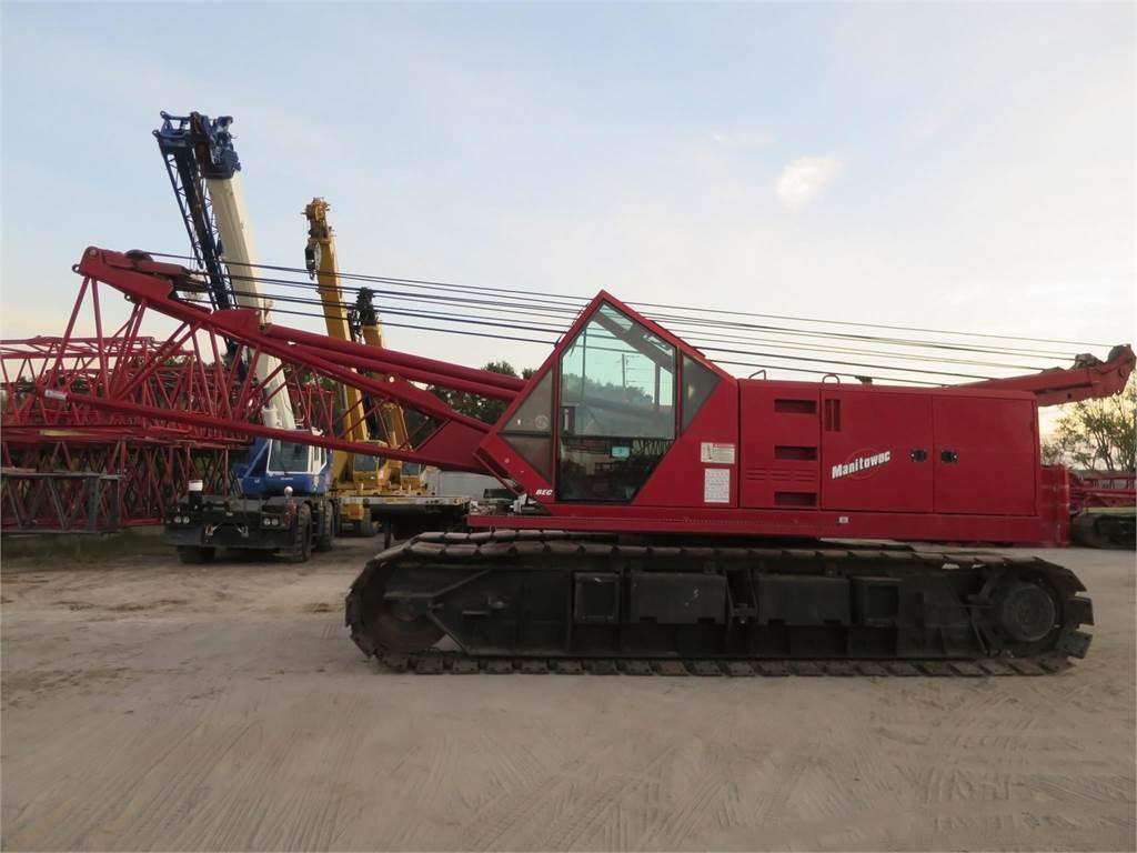Manitowoc 222SB, Crawler Cranes, Construction Equipment