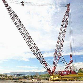 Manitowoc 4100 II, Crawler Cranes, Construction Equipment