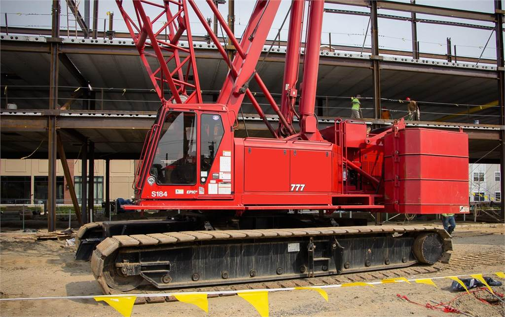 Manitowoc 777S2, Crawler Cranes, Construction Equipment