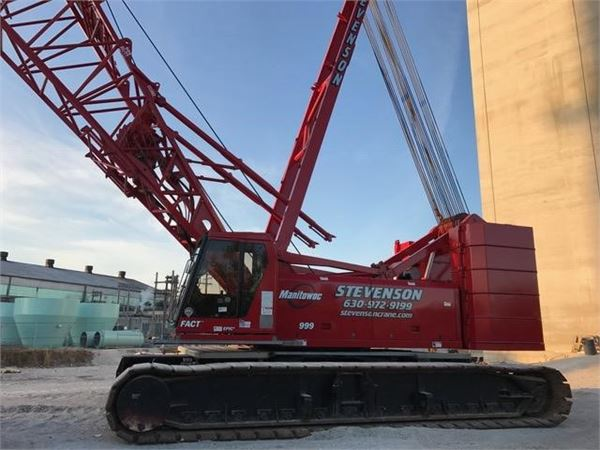 Manitowoc 999, Tracked Cranes, Construction Equipment