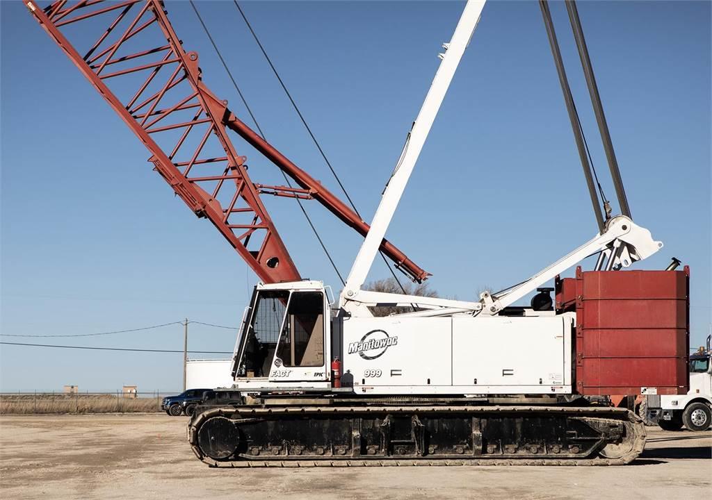 Manitowoc 999 III, Crawler Cranes, Construction Equipment