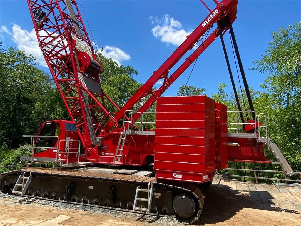 Manitowoc MLC300, Crawler Cranes, Construction Equipment