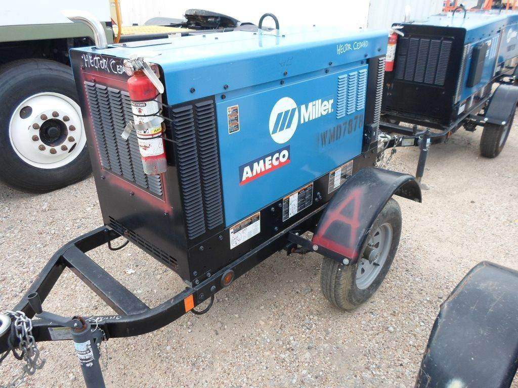 Miller BIG BLUE 400 PRO, Other, Construction Equipment