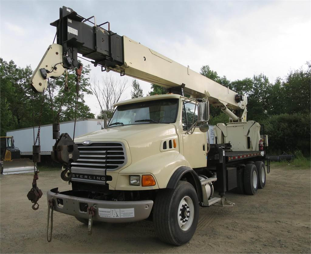National 9103A, Loader Cranes, Trucks and Trailers