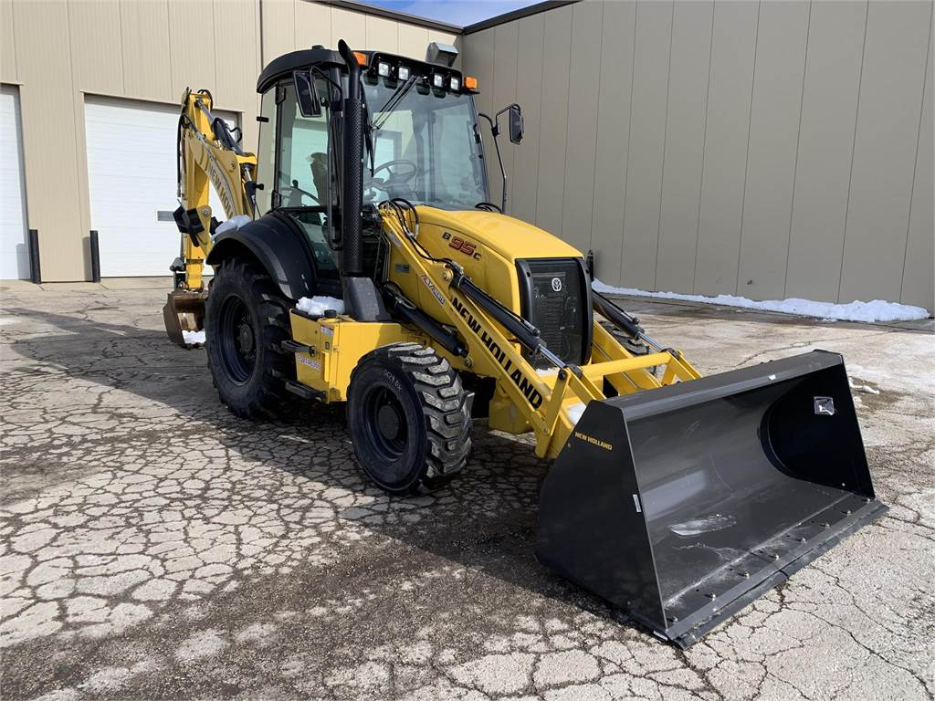New Holland B95C, Backhoe Loaders, Construction Equipment