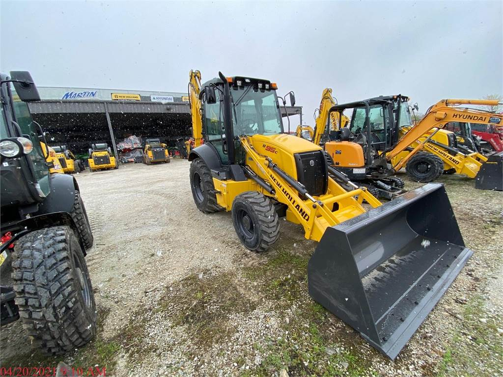 New Holland B95C, Backhoe Loaders, Construction Equipment