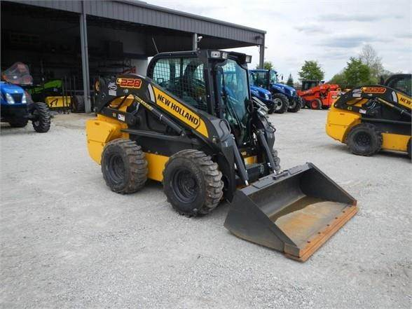 New Holland L228, Skid Steer Loaders, Construction Equipment