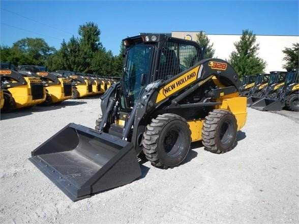 New Holland L328, Skid Steer Loaders, Construction Equipment