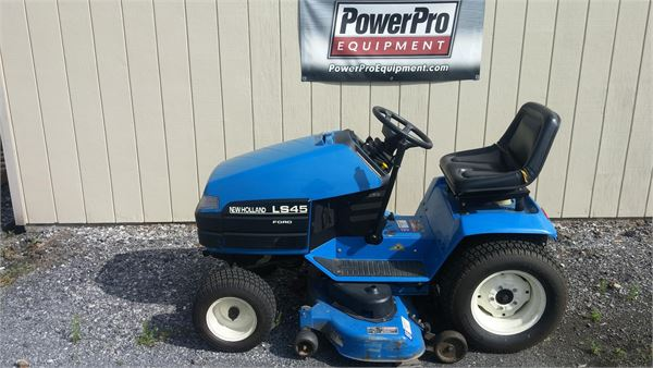 New Holland LS45, Riding mowers, Grounds Care