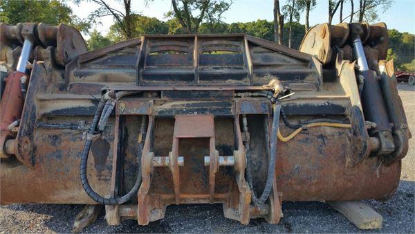 Pemberton Bemberton inc Grapple, GP/ 907 - VOLVO L220 F/G, Grapples, Construction Equipment