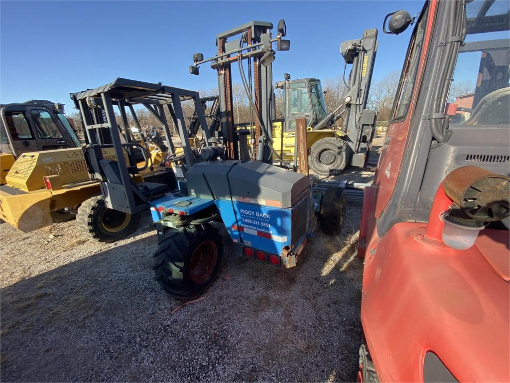 Princeton E2-3RVX, Truck mounted forklifts, Trucks and Trailers