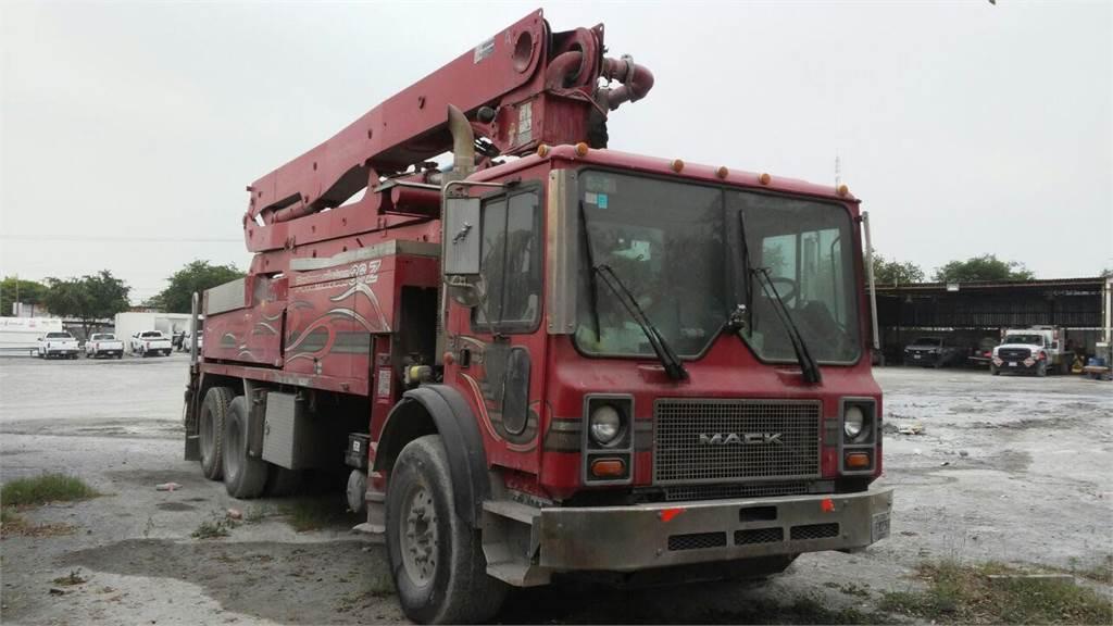 Putzmeister BSF36Z.16H, Boom Pumps, Construction Equipment