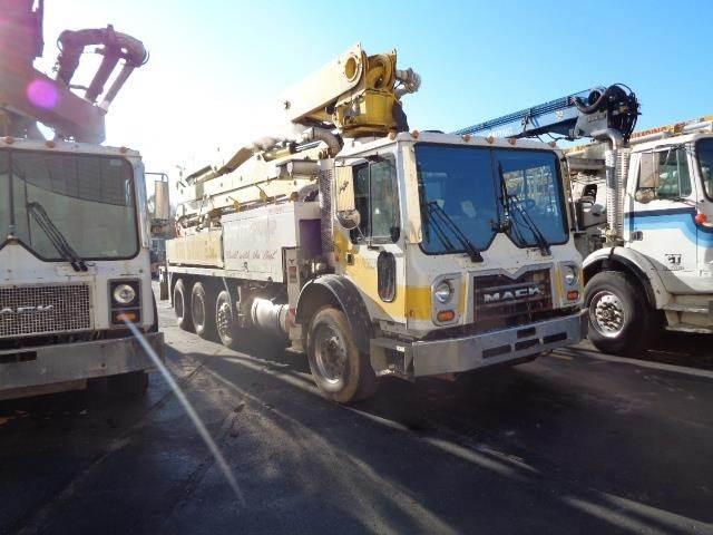 Putzmeister BSF38Z.16H, Boom Pumps, Construction Equipment