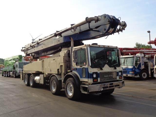 Putzmeister BSF46X.16H, Boom Pumps, Construction Equipment