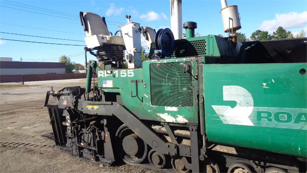 Roadtec RP155, Asphalt pavers, Construction Equipment