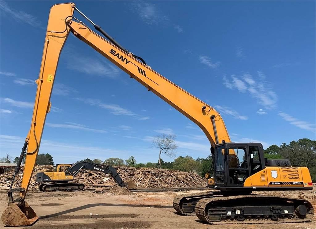 Sany SY235CLR, Crawler Excavators, Construction Equipment