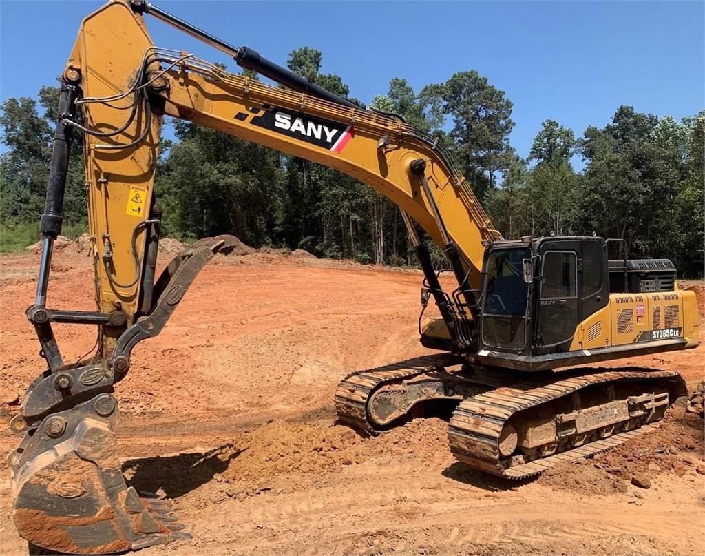 Sany SY365C LC, Crawler Excavators, Construction Equipment