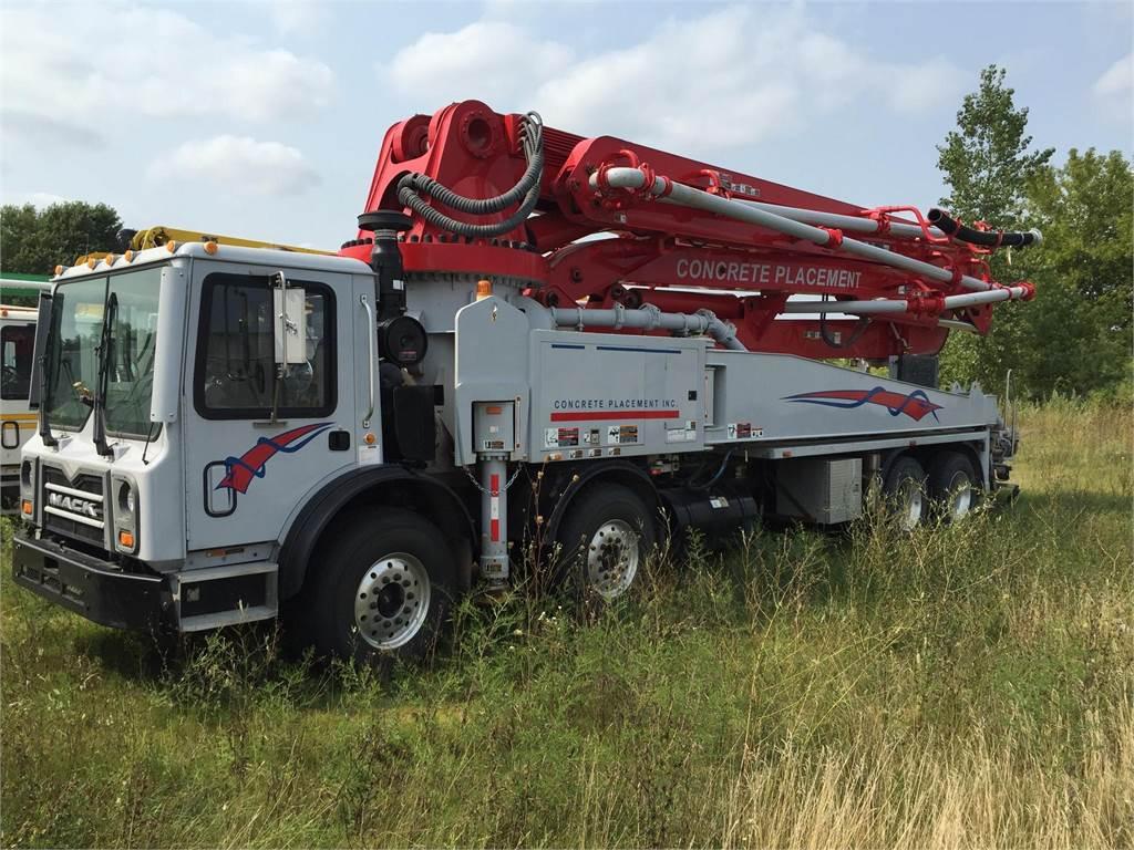 Sany SY5411THB45, Boom Pumps, Construction Equipment