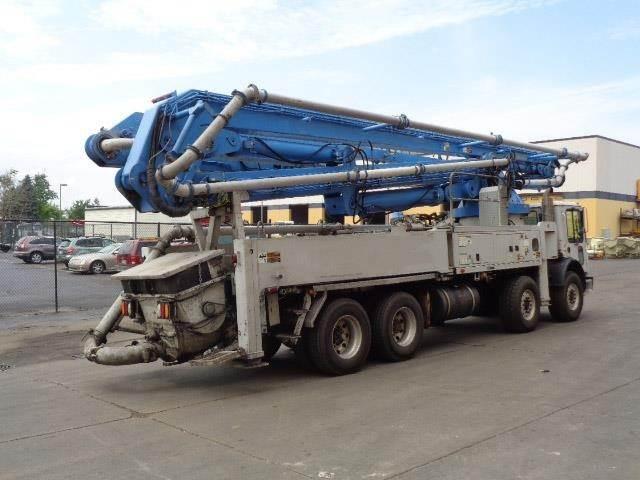 Schwing BPL2525-H6 S45SX, Boom Pumps, Construction Equipment