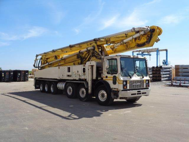Schwing BPL2525-H6 S58SX, Boom Pumps, Construction Equipment