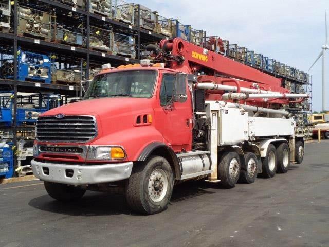 Schwing BPL900HDR, Boom Pumps, Construction Equipment