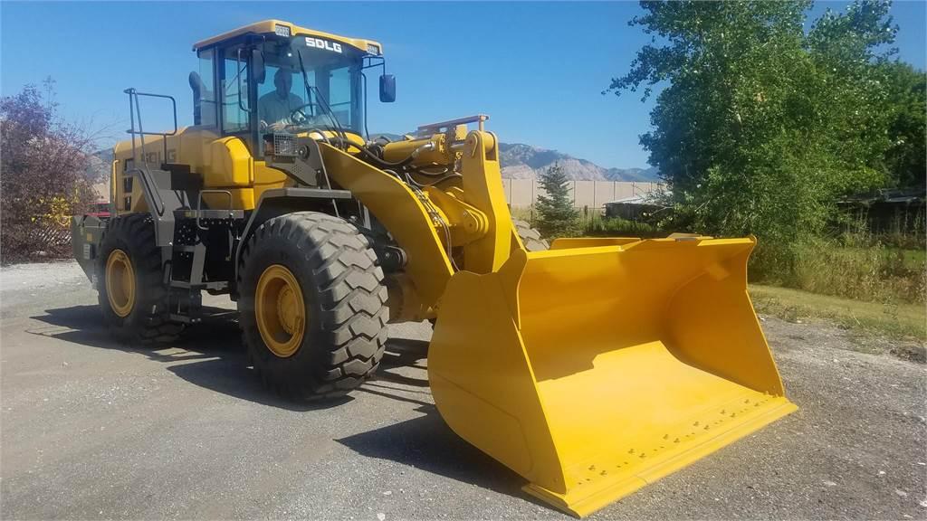 SDLG L959F, Wheel Loaders, Construction Equipment
