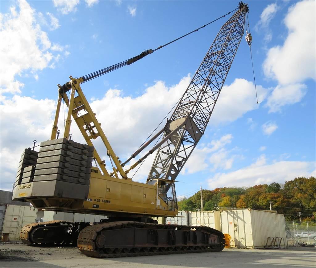 Sumitomo LS248RH-5, Crawler Cranes, Construction Equipment