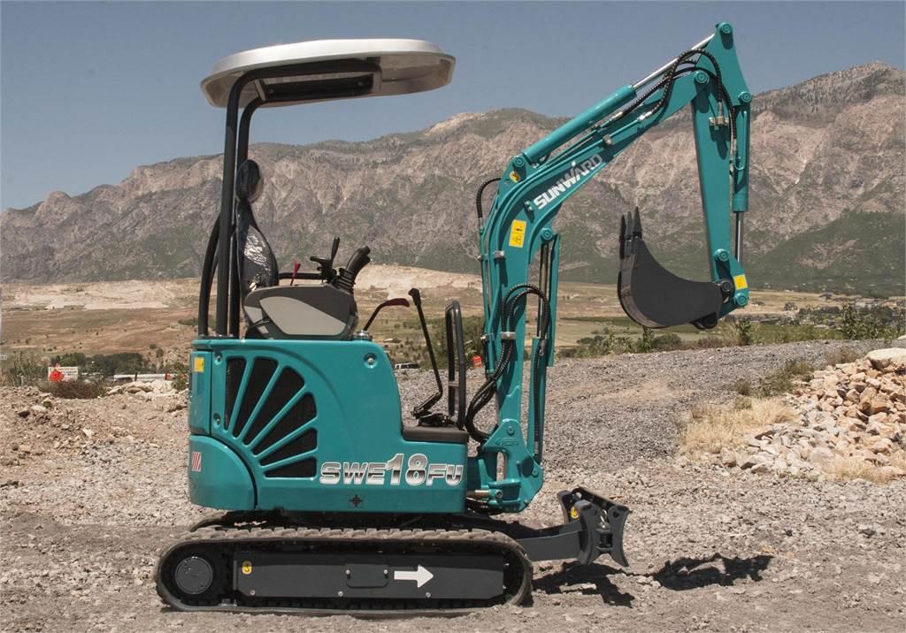Sunward SWE18FU, Mini Excavators <7t (Mini Diggers), Construction Equipment