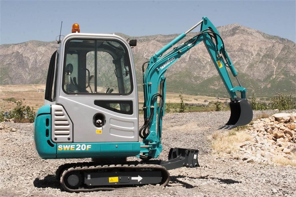 Sunward SWE20F, Mini Excavators <7t (Mini Diggers), Construction Equipment