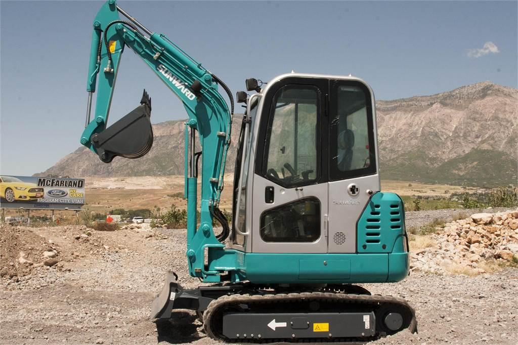 Sunward SWE25F, Mini Excavators <7t (Mini Diggers), Construction Equipment