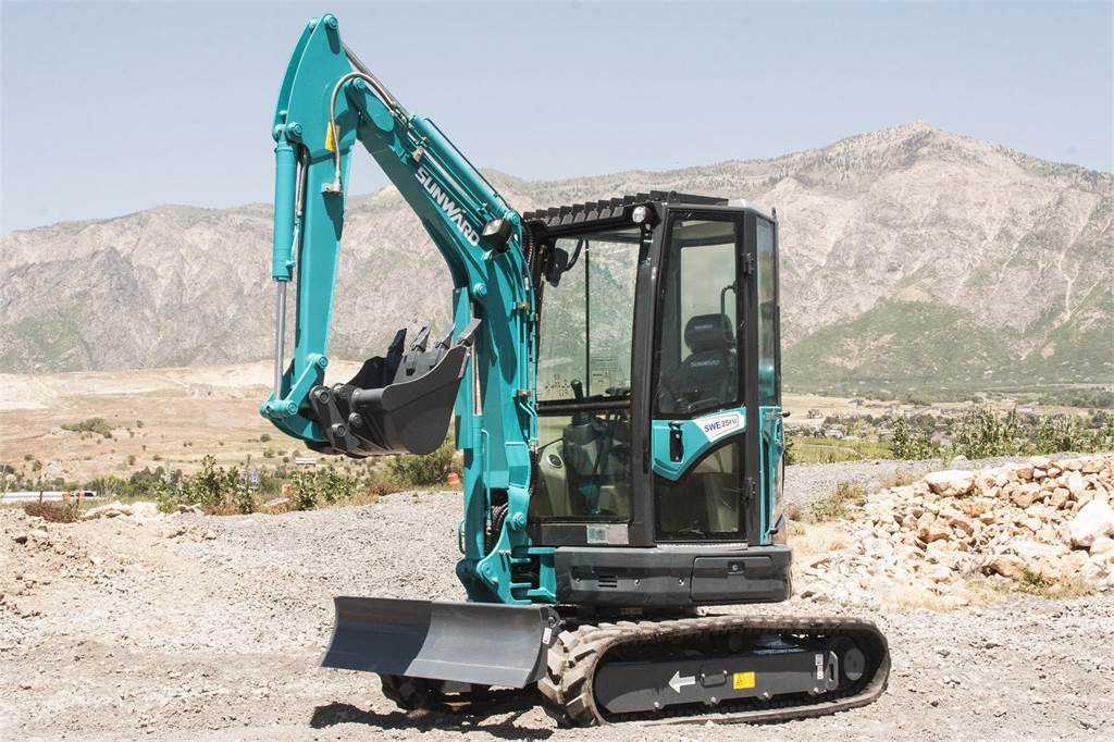 Sunward SWE25FU, Mini Excavators <7t (Mini Diggers), Construction Equipment