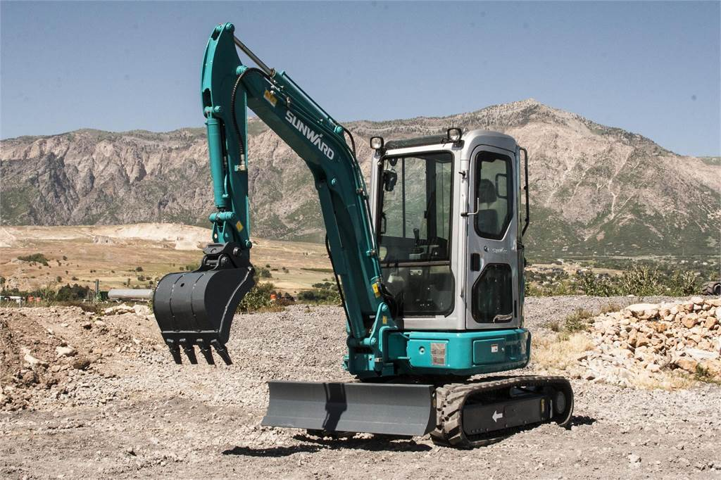 Sunward SWE30UB, Mini Excavators <7t (Mini Diggers), Construction Equipment